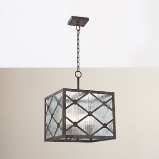 Reviews Dailey 3-Light Square/Rectangle Chandelier By Brayden Studio
