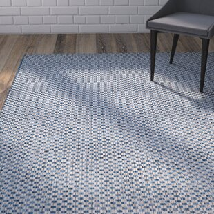 Jefferson Place Blue/Light Gray Indoor/Outdoor Area Rug