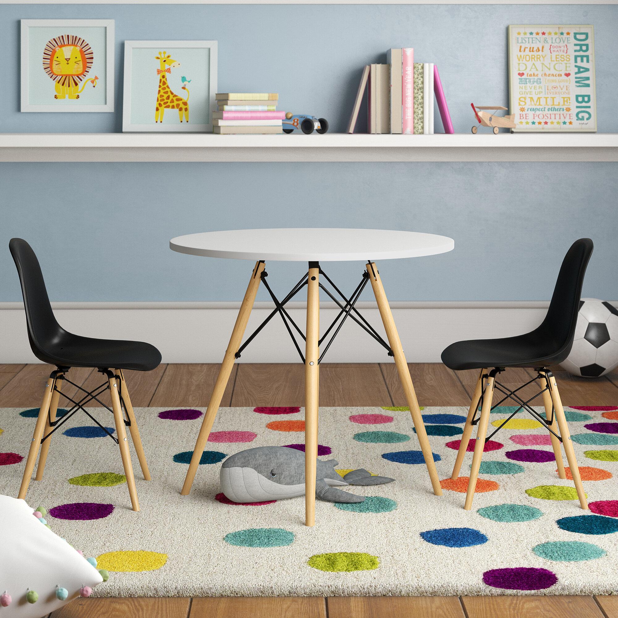 Awe Inspiring Arnault Ebling Kids 3 Piece Writing Table And Chair Set Ncnpc Chair Design For Home Ncnpcorg