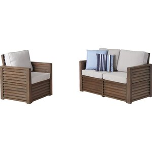 Barnside 2 Piece Living Room Set by Home Styles