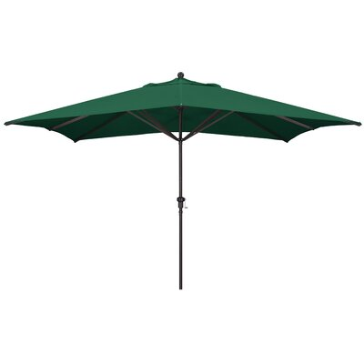Carlton 8 X 11 Rectangular Market Umbrella by Sol 72 Outdoor Sale