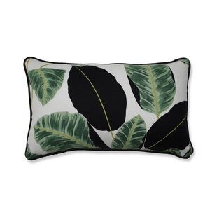 Biscay Hojas Cubanas Rainforest Lumbar Pillow