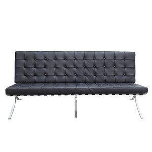 Pavilion Leather Sofa by Fine Mod Imports