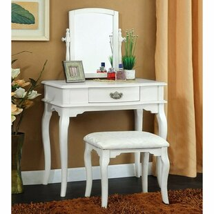 Darby Home Co Bemot Vanity Set with Mirror