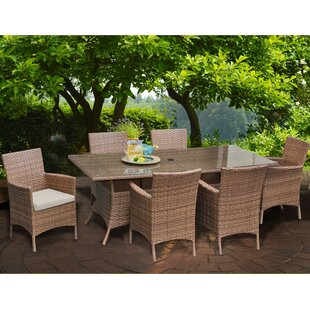 Laguna Patio Dining Chair with Cushion (Set of 6) by TK Classics