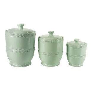 Green Kitchen Canisters U0026 Jars Youu0027ll Love | Wayfair
