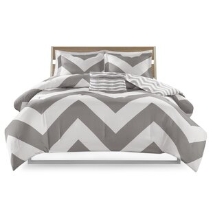 Banneker Reversible Comforter Set by Ebern Designs