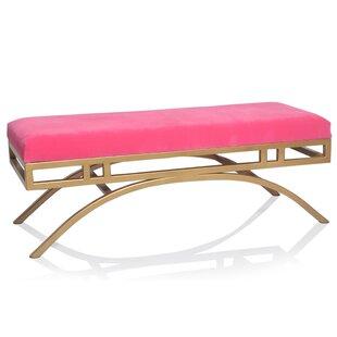 Everly Quinn Delanie Upholstered Bench