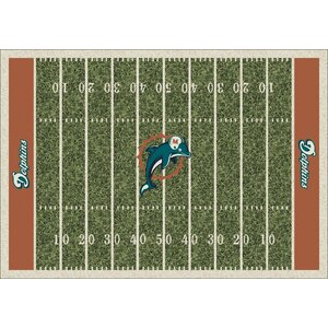 NFL Team Fade Home Field Novelty Rug