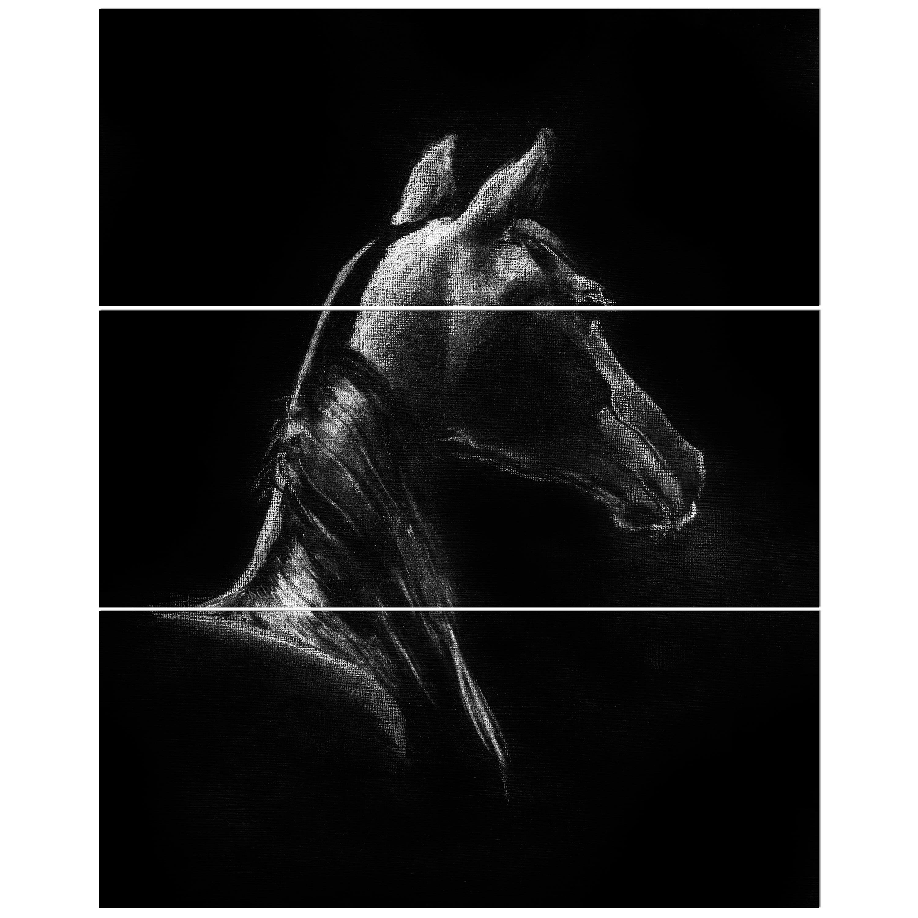 Home Decor Animal Painting Canvas HD Art Print Bedroom Background Horses