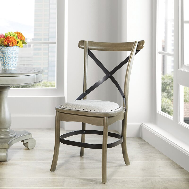 Gracie Oaks Heffner Upholstered Dining Chair Reviews Wayfair