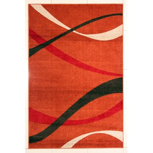 Affordable Mccollough Modern Brown Area Rug By Orren Ellis