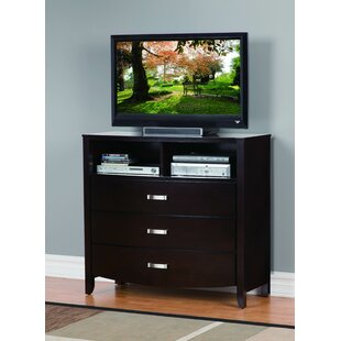 Latitude Run Lucy 3 Drawer Media Chest