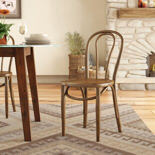 Matthew Solid Wood Dining Chair by Loon P..