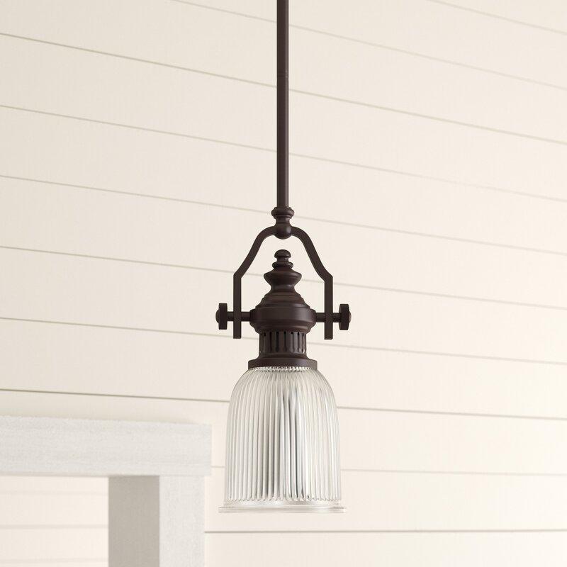 Gregorio 1 - Light Single Bell Pendant