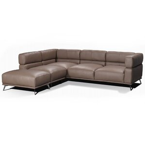 Palladio Leather Sectional..