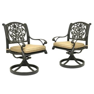 Camptown Rocking Chair with Cushion (Set of 2) Fleur De Lis Living