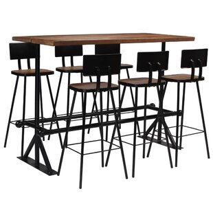 Palos Dining Set With 6 Chairs By Williston Forge