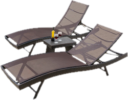 Beau Outdoor Lounge Chairs