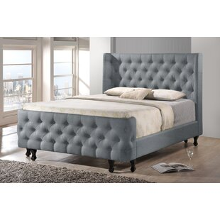 Autumn Upholstered Platform Bed by Alcott Hill