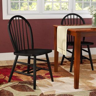 Maud Solid Wood Dining Chair Set of 2