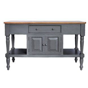 Darby Home Co Brookstonval Kitchen Island