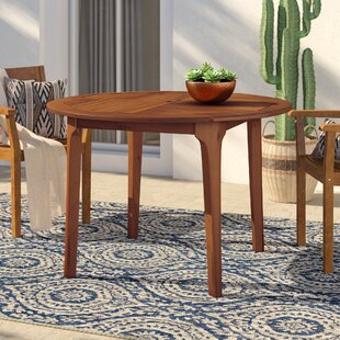 Bridgette Solid Wood Dining Table by Mist..