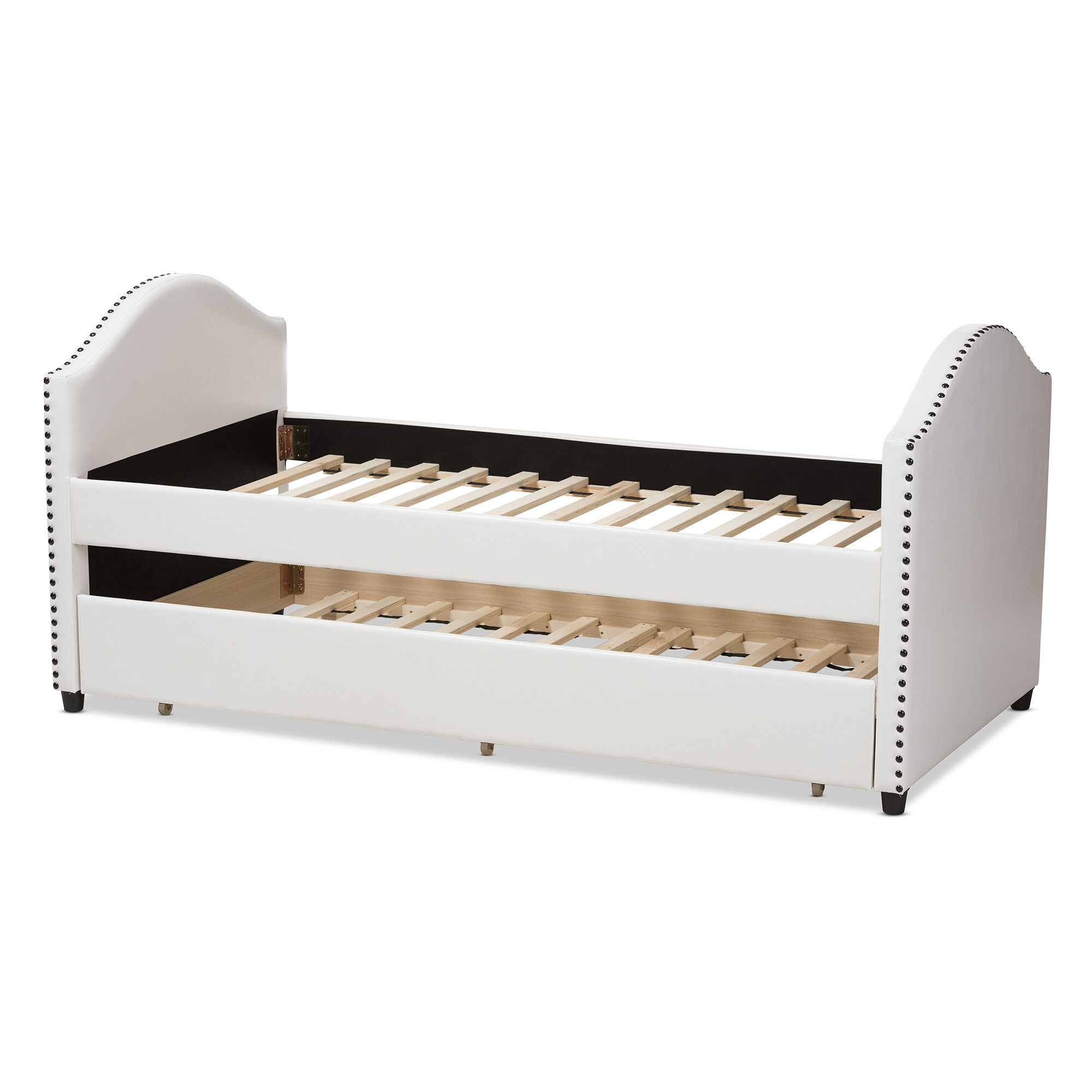 Wholesale Interiors Baxton Studio Twin Bed With Trundle & Reviews