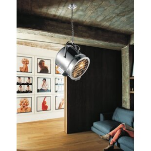 CWI Lighting Broadway 1-Light Drum Pendant