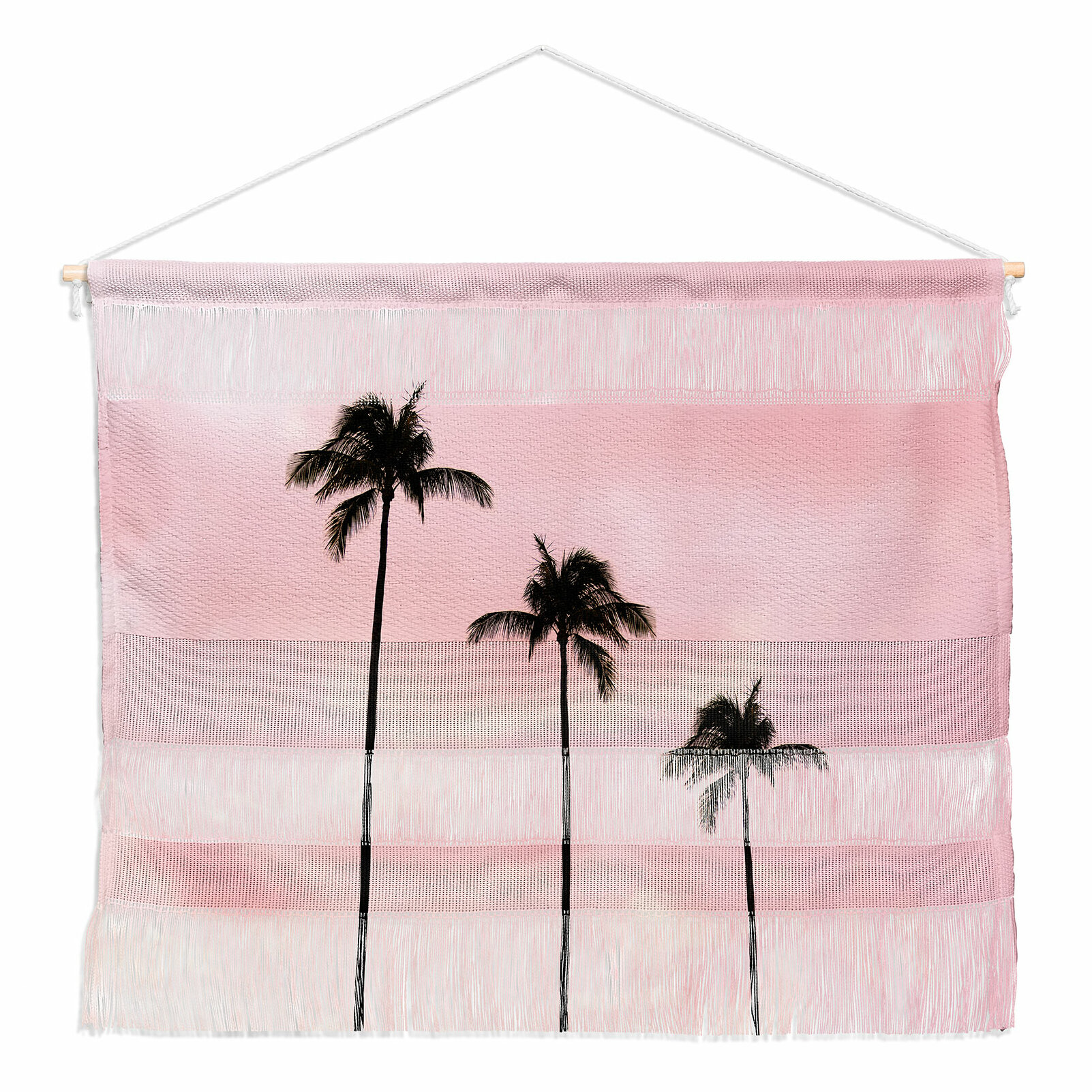 East Urban Home Palm Trees And Sunset By Magda Opoka Wall Hanging Wayfair