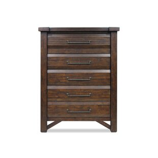 Union Rustic Bricelyn 5 Drawer Chest