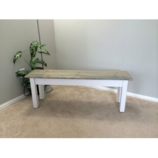 Darell Wood Bench by Highland Dunes