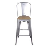 Rodney 30 Bar Stool by 17 Stories