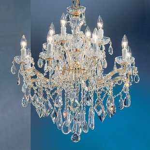 Classic Lighting Rialto 12-Light Candle Style Chandelier