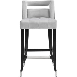 Denice 30 Bar Stool by Everly Quinn