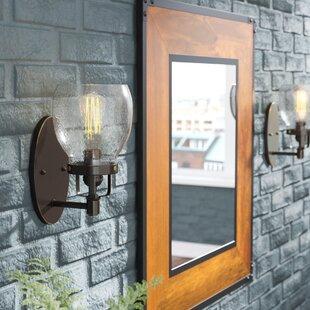 Comparison Panorama Point 1-Light Wall Bath Sconce ByTrent Austin Design