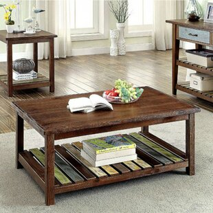 Weatherall Country Coffee Table with Storage