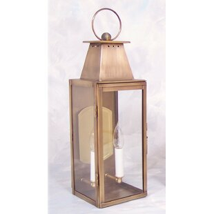 Best Price Ponce 2-Light Outdoor Wall Lantern By Darby Home Co