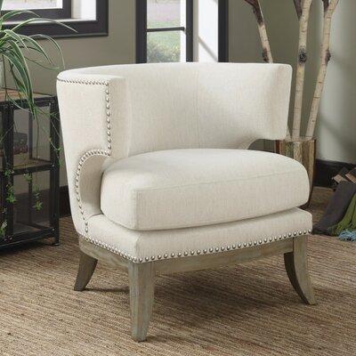 Sensational Gracie Oaks Shepherds Barrel Chair Upholstery White Dailytribune Chair Design For Home Dailytribuneorg