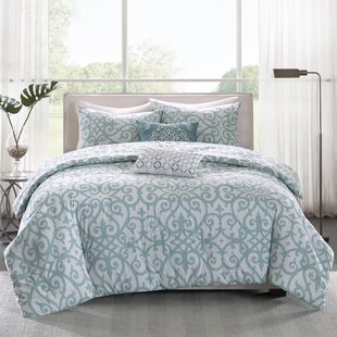 Cordelia Cotton 5 Piece Reversible Duvet Cover Set