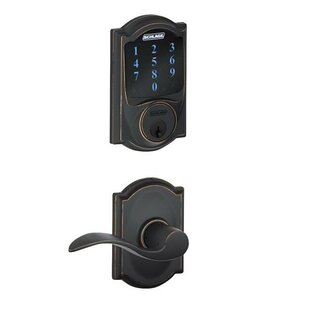 Connect Touchscreen Deadbolt and Accent Lever by Schlage