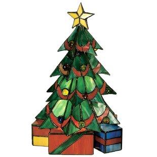 Meyda Tiffany Tiffany Christmas Tree Accent Table Lamp