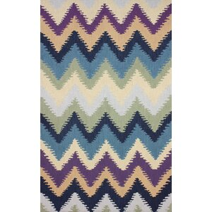 Heritage Hand-Hooked Multi-color Area Rug