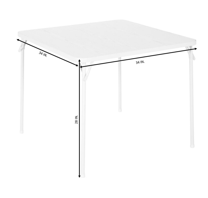 vineto square folding table defaultname