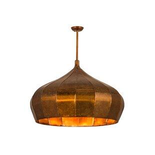 Meyda Tiffany Greenbriar Oak 1-Light Pendant