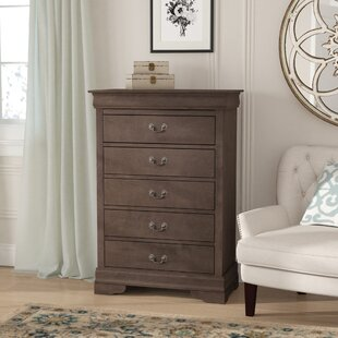 Lisle 5 Drawer Chest by Lark Manor