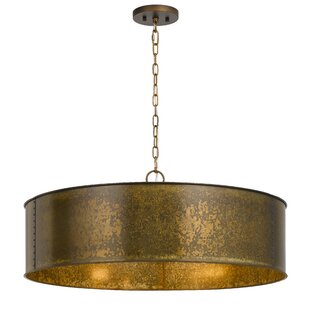 Comparison Shoup Metal 5-Light Drum Chandelier By World Menagerie
