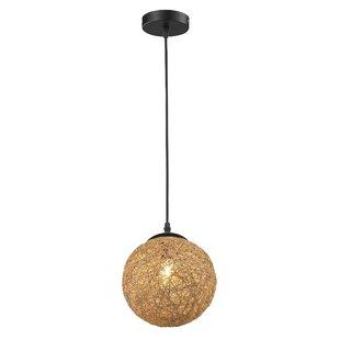 Petrucci 1-Light Globe Pendant By Wrought Studio Ceiling Lights