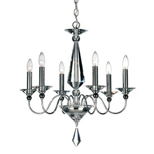 Schonbek Jasmine 6-Light Chandelier