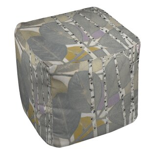 Birch Leaf Pouf